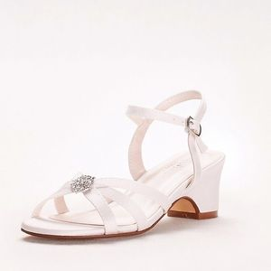 David's Bridal Addie Flower Girl Shoe